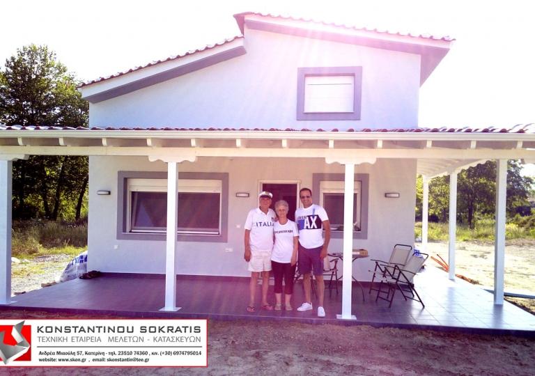 Εξοχική κατοικία με σοφίτα στην Πλάκα Λιτοχώρου